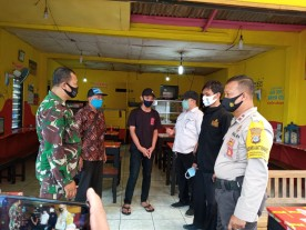 Edukasi Protokol Kesehatan bagi Pelaku Usaha di wilayah Kelurahan Warungboto