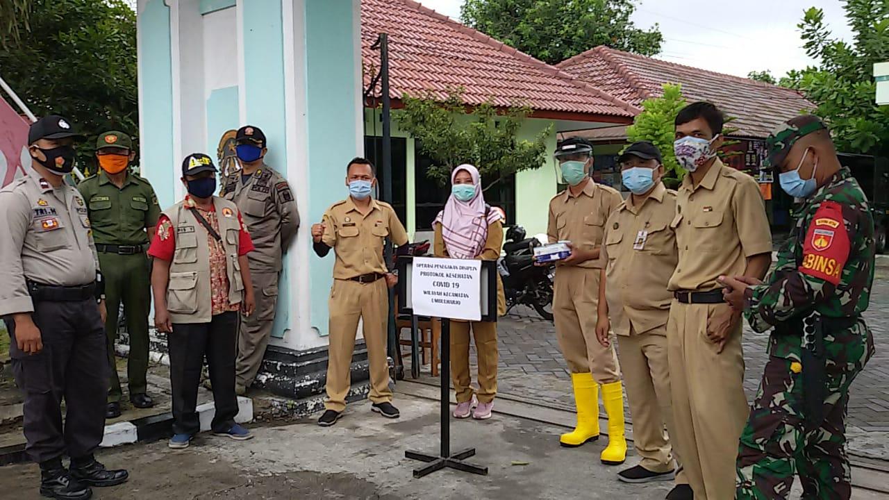Operasi Yustisi Penegakan Protokol Kesehatan di Wilayah Kelurahan warungboto